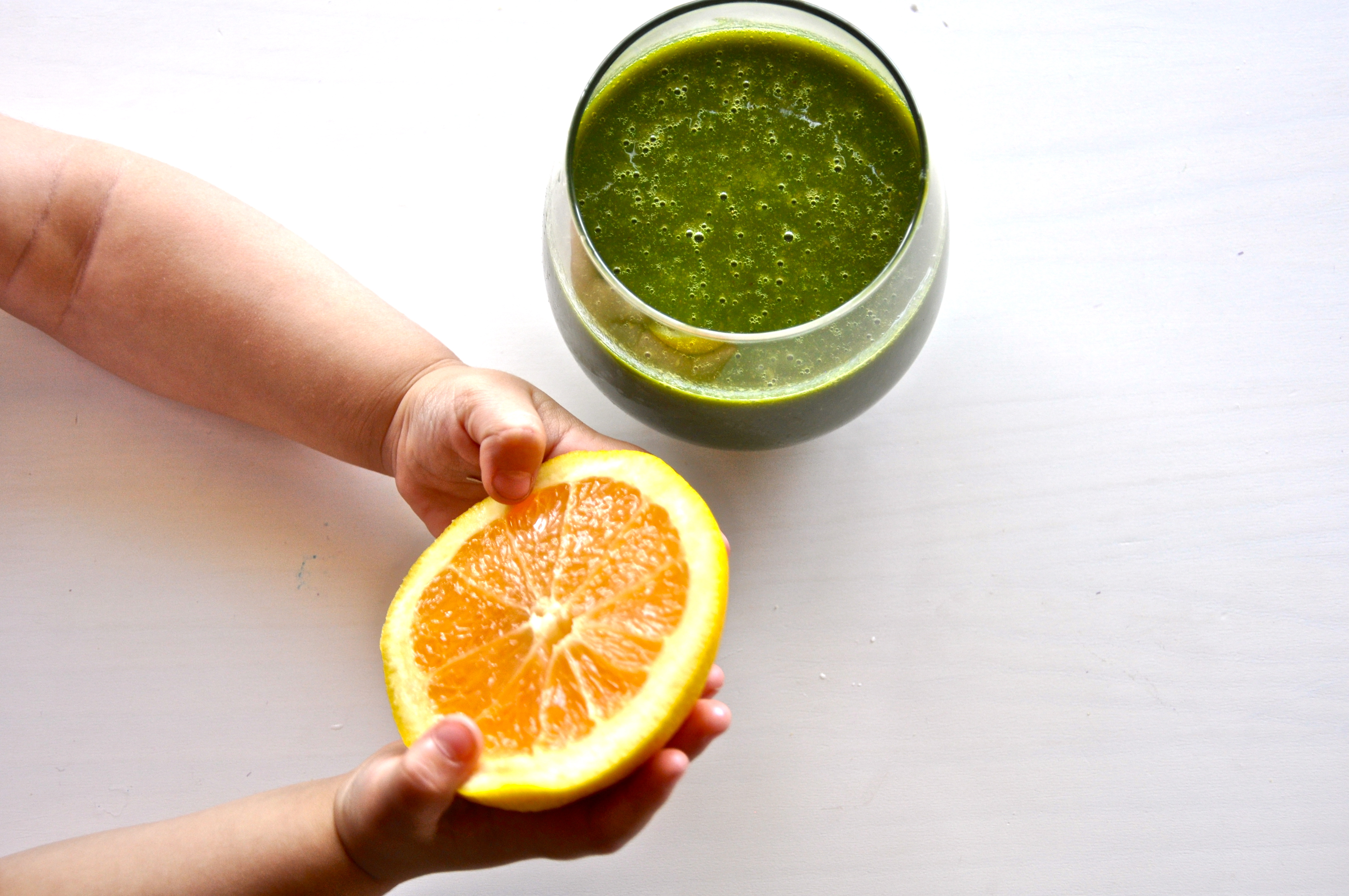 Kale-Orange Green Smoothie